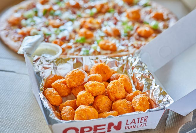 Toppers Pizza cheese curds are on the line for a friendly wager on Sunday's Packers-Colts game.