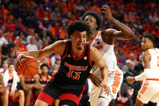 Jordan Nwora is a 6-foot-7, 22-year-old wing who played three seasons at Louisville.