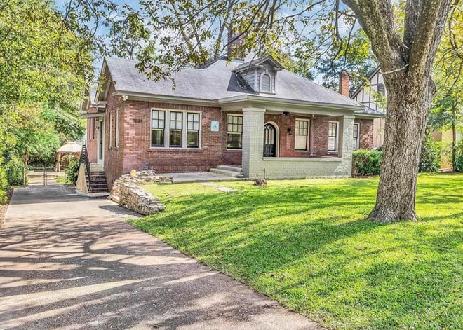 One three-bedroom, two-bath home on LeBron Road is for sale for $199,900. The 1,757 square foot home was built in 1925, and has been updated.