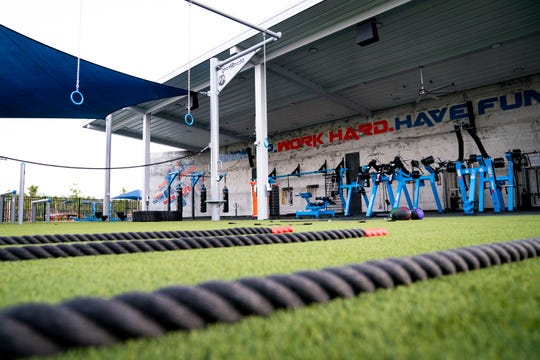 The Factory fitness pavilion at Paradise Coast Sports Complex in East Naples, photographed on Thursday, November 19, 2020.