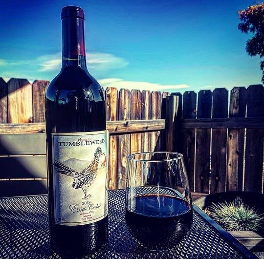 Earth Cuckoo is a Rioja-style wine produced in Arizona by Chateau Tumbleweed.
