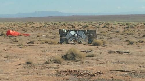 a12f3a55 4bd0 43cd a26c fe645fce806a Satellite falls from sky and lands near Navajo Nation officials home in Dennehotso jpg?crop=503,283,x1,y0&width=503&height=283&format=pjpg&auto=webp.