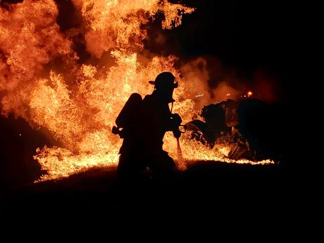 As of Thursday, November 19, 2020, firefighters said the cause of the fire is unknown.