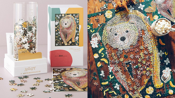 Best gifts from Anthropologie: Jiggy Puzzle