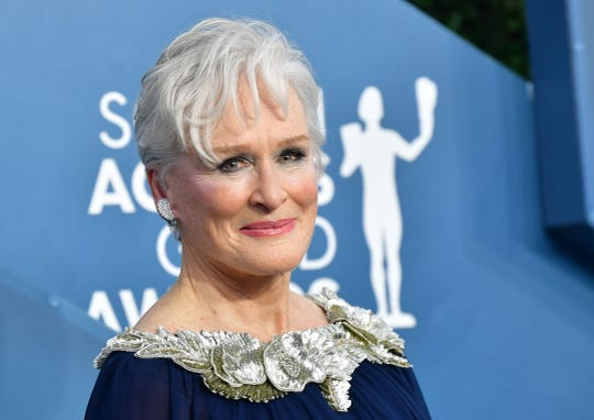 """Seen here at this year's Screen Actors Guild Awards, Glenn Close is going for Oscar nomination No. 8 with """"Hillbilly Elegy."""""""