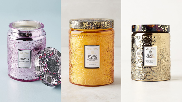 Best gifts from Anthropologie: Voluspa Cut Glass Jar Candle
