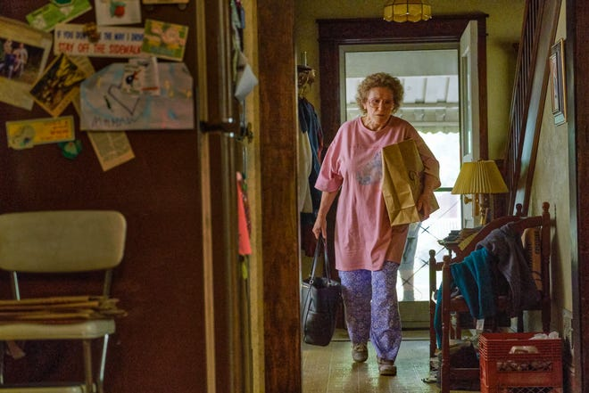 "Glenn Close is transformed into the tough-love, larger-than-life Mamaw in director Ron Howard's Netflix drama ""Hillbilly Elegy."""