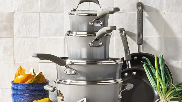 This cookware set has a collective 4-star review from more than 500 Macy's shoppers.