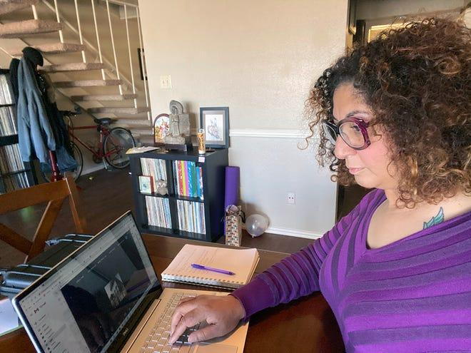 Tiffany Nall, a WTAMU senior psychology student minoring in art history from Amarillo, has begun work on a national art internship.
