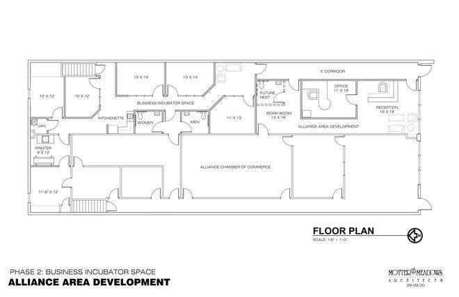 Alliance Area Development office layout