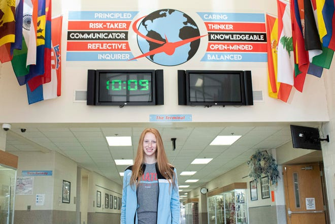 Jenna Heslop, a 14-year-old student at Alliance Middle School, is The Alliance Review's Make the Grade Kid of Character for November.