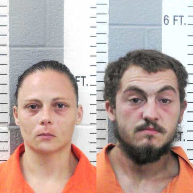 Shannon Michelle Smith (left) and James Daren Smith (right).
