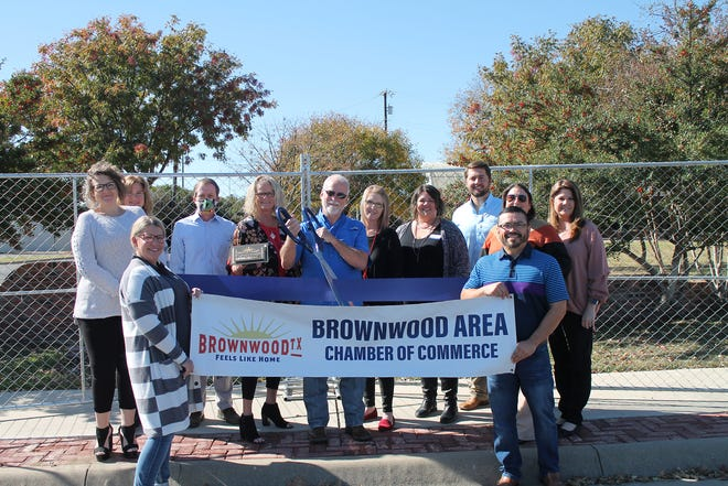 The Brownwood Area Chamber of Commerce held a ribbon-cutting for Brown County Event Fencing recently.  From big events to home renovations, Brown County Event Fencing can supply all your temporary fencing needs. Their services include set-up and takedown. Locally owned and operated. For more information, call Chris Firth at (325) 203-3479 or Vikki Firth at (325) 203-3427.