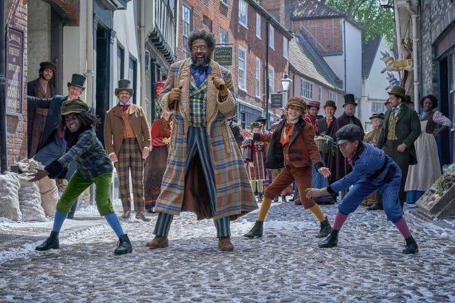 "Forest Whitaker as Jeronicus Jangle in ""Jingle Jangle: A Christmas Journey."""