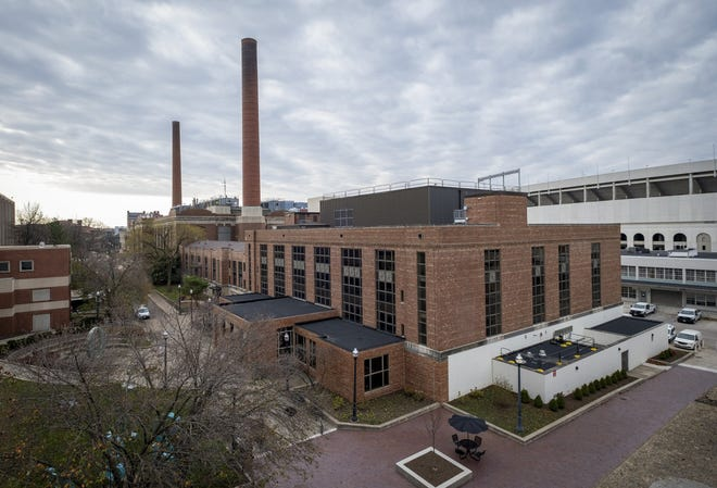 The McCracken Power Plant on Ohio State University's campus is one of Franklin County's highest emitters of greenhouse gasses.