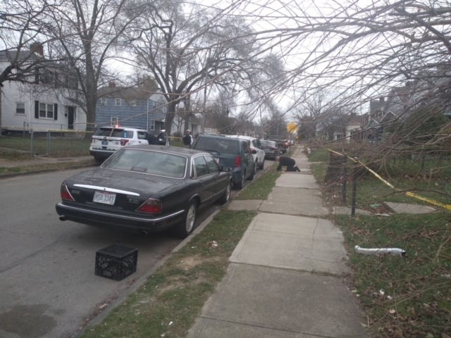Police were called just after 11 a.m. to the 1200 block of E. 18th Avenue.