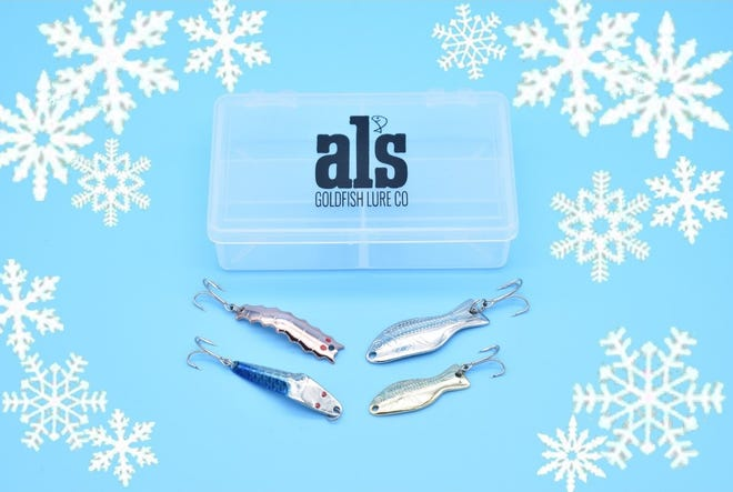 Al's Goldfish Lure Company is offering a set of lures named in honor of Examiner outdoors writer Kenneth Kieser.