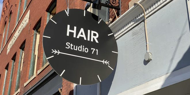 Hair Studio can be found where else except 71 North Main Street in downtown Rochester.