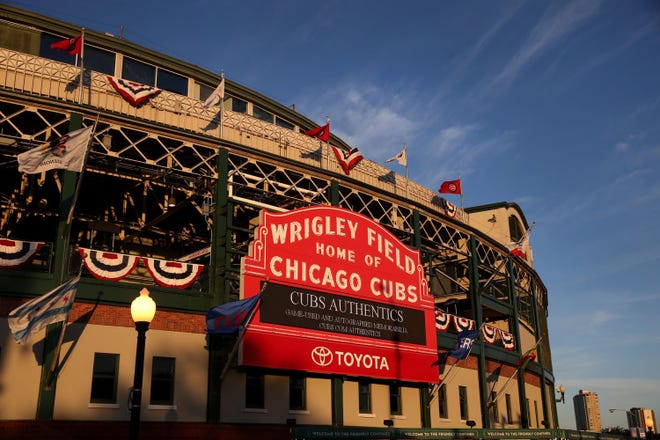 Seven years after ownership applying, Wrigley Field received federal landmark status in the National Register of Historic Places. [Chris Sweda/Chicago Tribune/TNS]