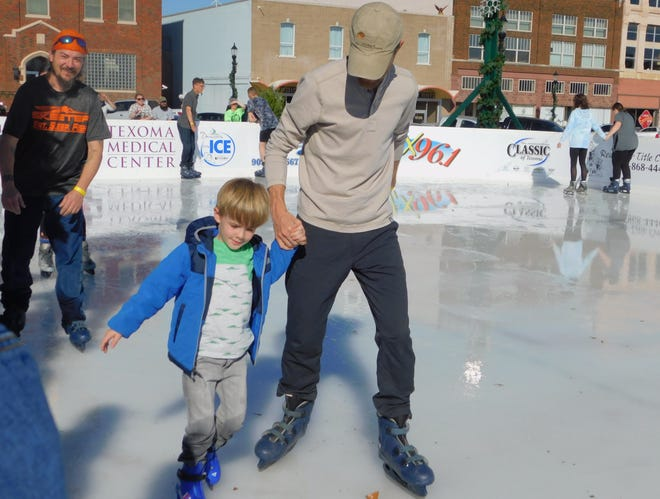 Organizers for Denison on Ice said the annual ice rink will feature changes for 2020 aimed at mitigating the risk of COVID-19 exposure