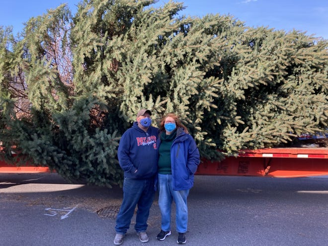 A bittersweet goodbye for the Sheimans who donated the city's Christmas tree. It was planted by Michael Sheiman 25 years ago on his South Beach Street property