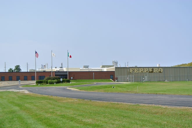 The future home of the Ferrero USA chocolate production facility in Bloomington is seen in this supplied photo