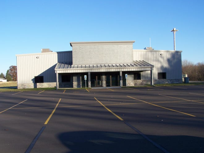 The Cedarville Fire Protection District building on Illinois Route 26.