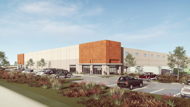 Rendering provided by the Lubbock Economic Development Alliance.