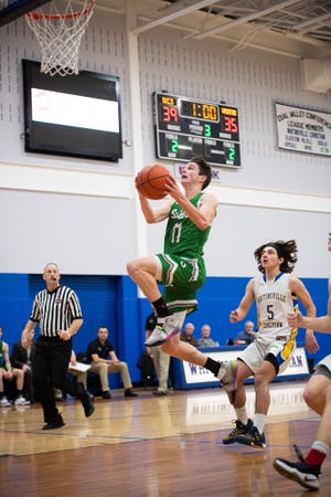 Sutton High School student-athlete TJ Maselek