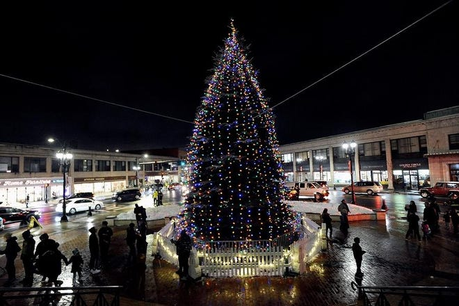 There will be no tree lighting ceremony in downtown Framingham this year.