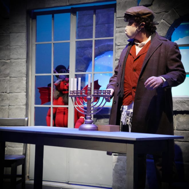 "A streamed video of the University of New Hampshire play ""Hershel and the Hanukkah Goblins"" is available this weekend Nov. 19 to 22 to watch from your own home. Tickets are available at www.unharts.com."
