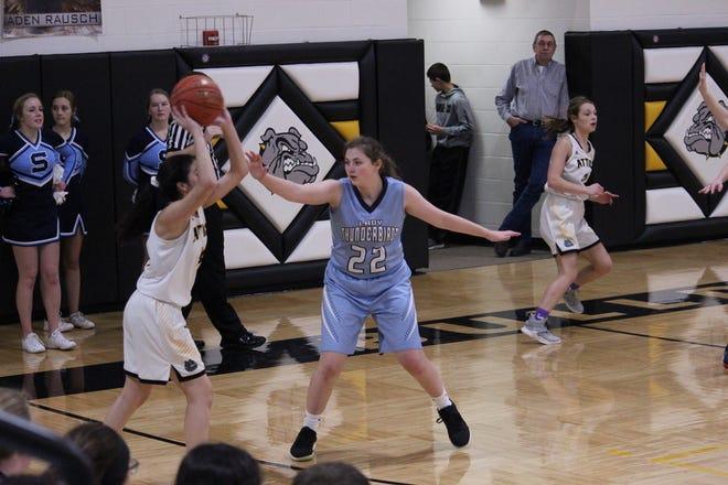 T'Lane Tobin brings senior leadership to the Skyline girls basketball program this year in Pratt.