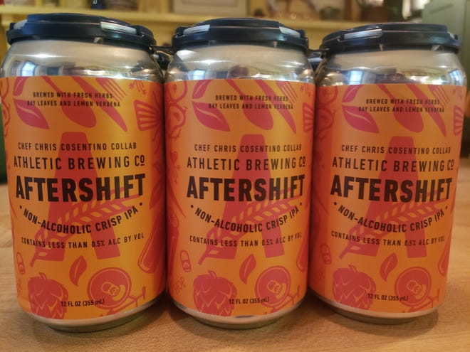 Aftershift is a new non-alcohol beer from Athletic Brewing Co. They created the beer with chef Chris Cosentino, R.I. native and celebrity chef.