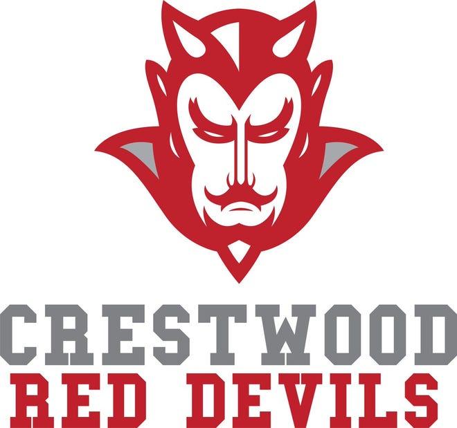 Crestwood Red Devils logo.