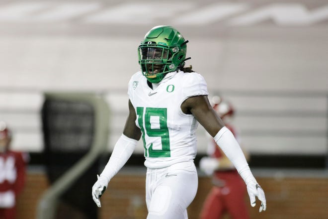 Defensive back Jamal Hill is expected to make his third straight for Oregon in Saturday's game against UCLA.