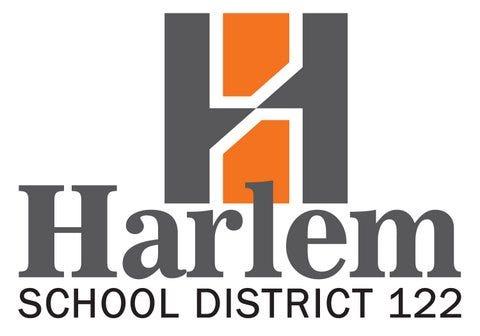 Harlem School District logo