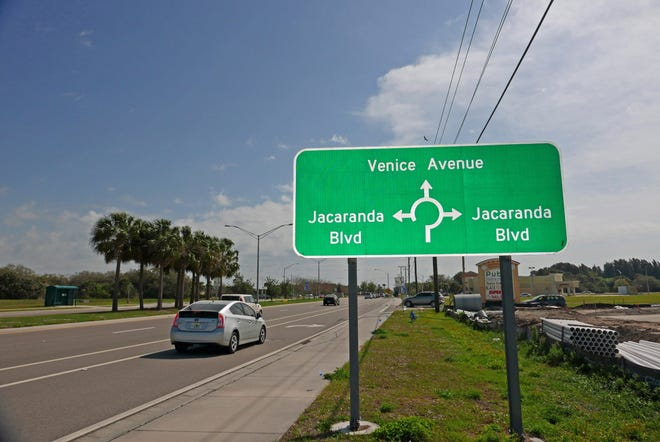A developer is seeking to build a 460-home subdivision on 63.7 acres east of the Jacaranda Boulevard-Venice Avenue roundabout.