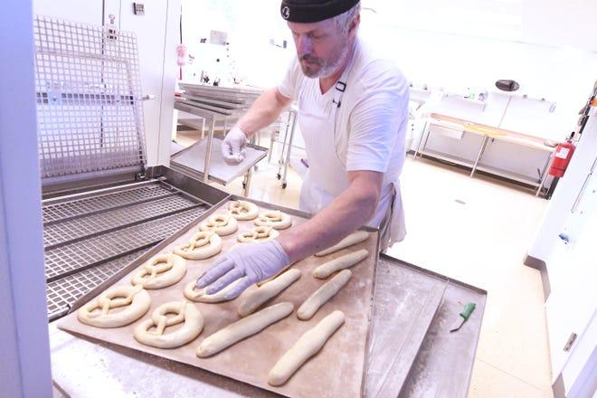 Markus Schmid opened The Pretzel Man bakery in September at 13865 off US-17 in Hampstead, N.C. [KEN BLEVINS/STARNEWS]