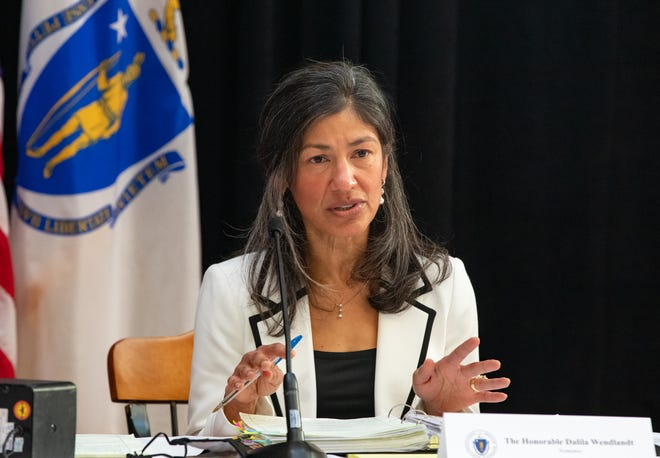 Appeals Court Justice Dalila Argaez Wendlandt fielded questions from the Governor's Council Wednesday at a hearing on her nomination to the Supreme Judicial Court.