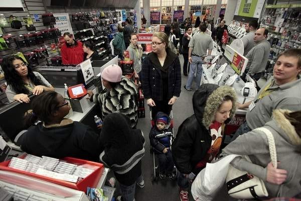 Black Friday is a traditionally crowded shopping day but will it be in the year of COVID?