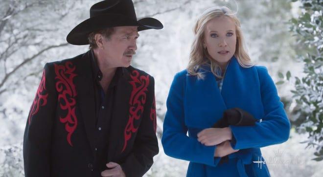"A scene from the Hallmark holiday movie, ""A Nashville Christmas Carol."""