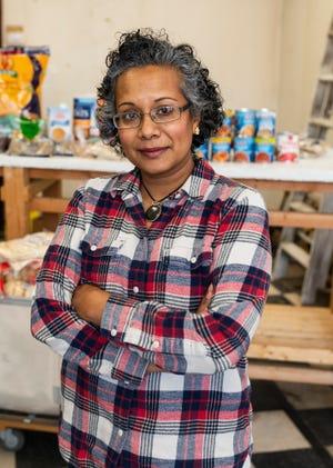 WORCESTER - Founder and executive director of Ujima Food Pantry Imrana Soofi on Friday, November 20, 2020.
