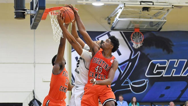 Campbell junior Cedric Henderson Jr. (45)  led the Camels in scoring at 12.4 points per game in his first season with the program.