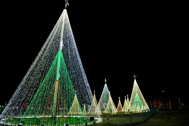 Christmas in the Park returns to Arnette Park this year with modifications: It will be drive-thru only.