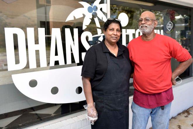 Dhan Tuitt and her husband, PJ, opened their restaurant Dhans Kitchen on Oakridge Avenue in September.