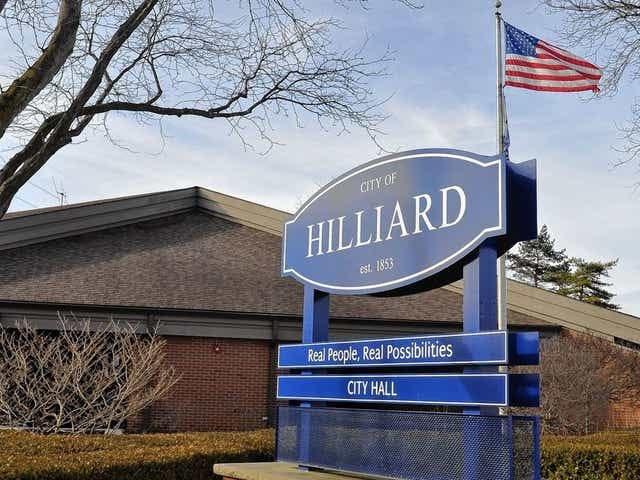 The Hilliard Municipal Building is at 3800 Municipal Way in Hilliard.