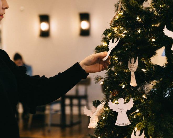 White Rhino Coffee hosts their Angel Tree for the Holiday season.