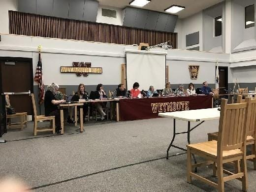 The School Committee will consider whether to adjust its online meeting rules after concerns were raised about vulgar behavior by some viewers.