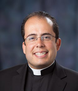 The Rev. Carlos D. Suarez is the pastor of the Stoughton Catholic Collaborative.