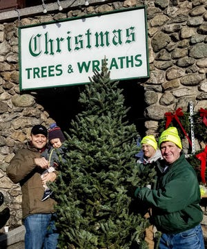 The Belmont Lions Club will hold its annual Christmas tree and wreath sale.